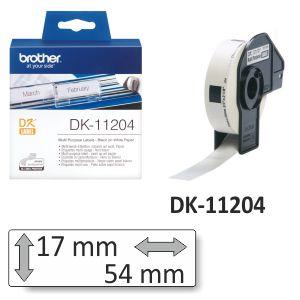 Etiquetas Brother DK-11204 rollo