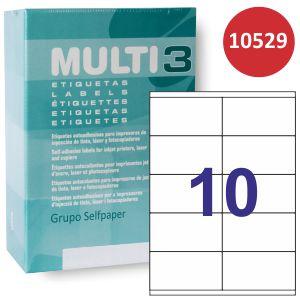 Etiquetas Impresora Multi3 10529