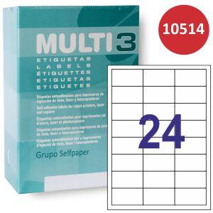Etiquetas Impresora Multi3 C/500