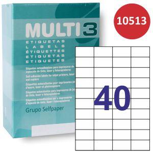 Etiquetas Multi3 10513 Caja