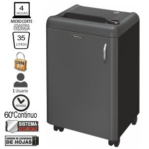 Fellowes 1050HS Destructora Microcorte P-7 Alta seguridad