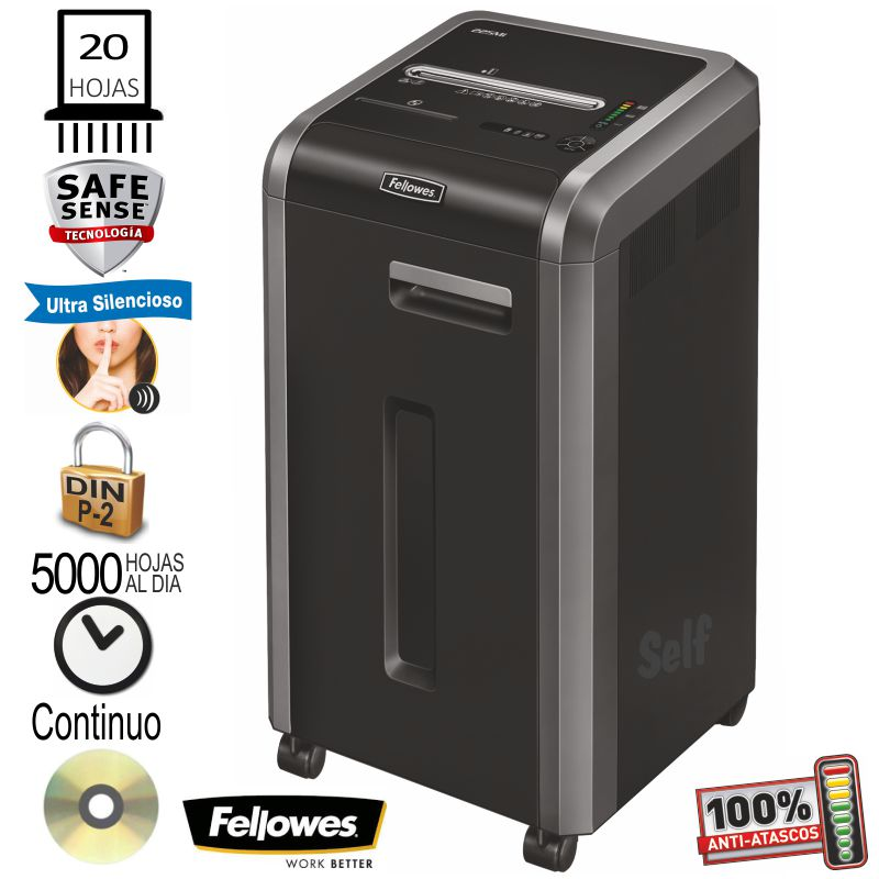 fellowes 225i destructora papel departamental
