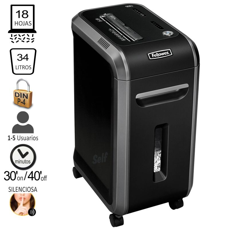 fellowes 99ci destructora uso intensivo 4691001