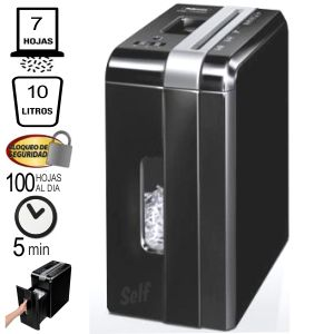 Comprar Destructora Fellowes DS-700C, Trituradora, 7 hojas