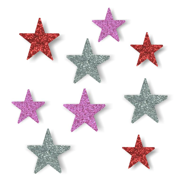 2930d9b024c ... figuras de estrella espuma purpurina goma eva ...