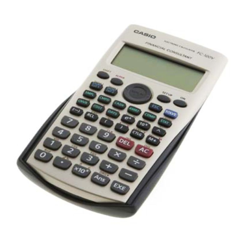 financial consulting casio fc 100v