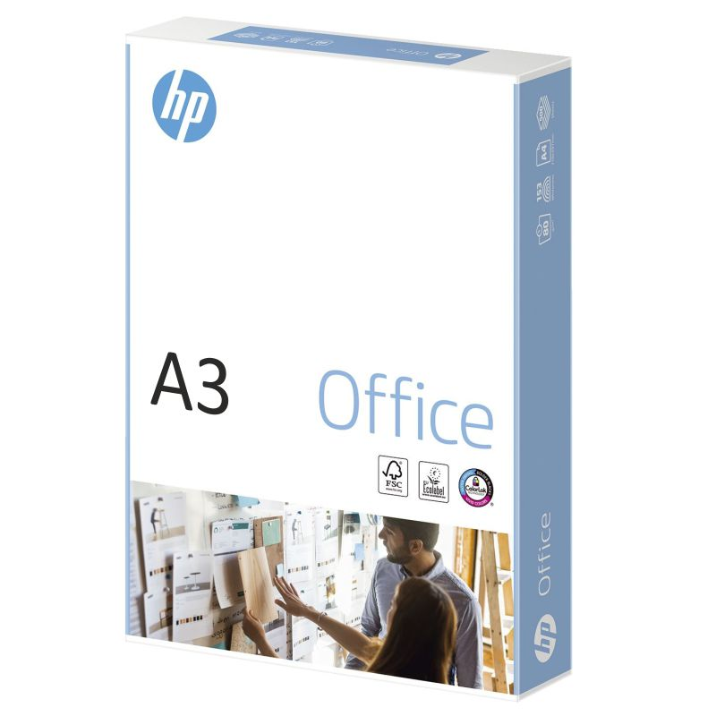 folios din a3 hp office chp120 papel 80 gramos, 50