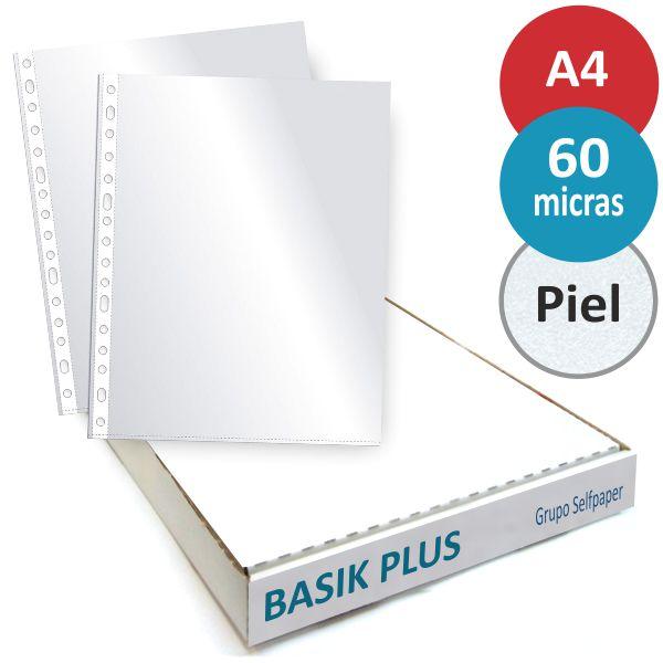 Dohe Basic A4, Pack de 100 fundas multitaladro