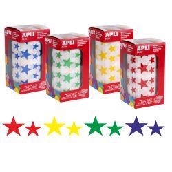 Gomets Apli, Estrellas adhesivas