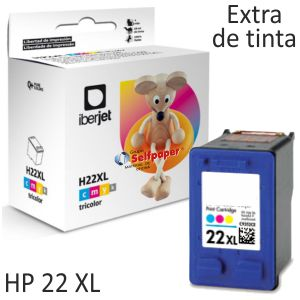 HP 22XL 22 XL Cartucho tinta remanufacturado Doble Tinta