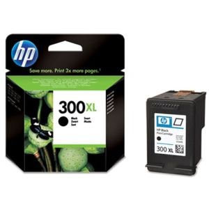HP 300XL Cartucho original CC641EE 600 Paginas negro