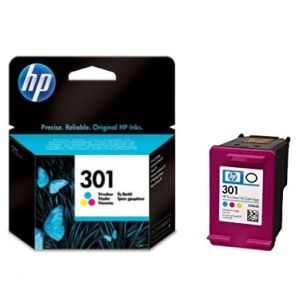 HP 301 Color, cartucho original, Deskjet 1000, 2050, 3000