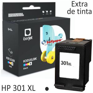 HP 301XL Cartucho tinta