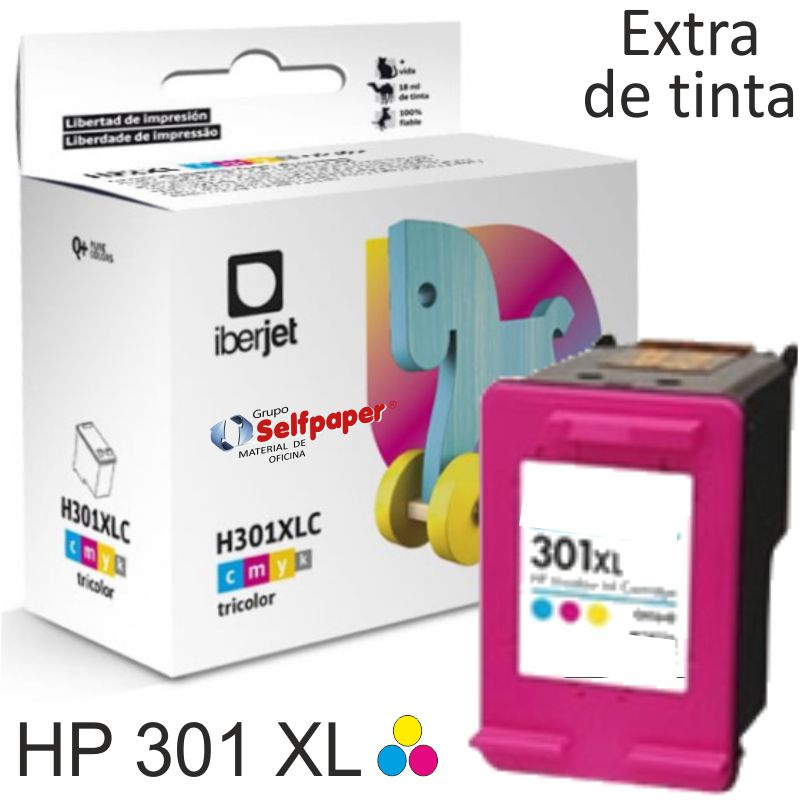 Comprar HP 301XL Color - Cartucho tinta compatible Deskjet 1050 2050