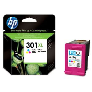 HP 301XL Color - Cartucho tinta original Deskjet 1050 2050
