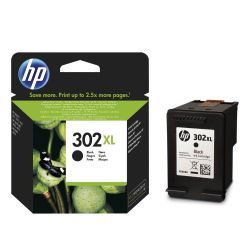 HP 302XL, Cartucho original negro Deskjet Officejet