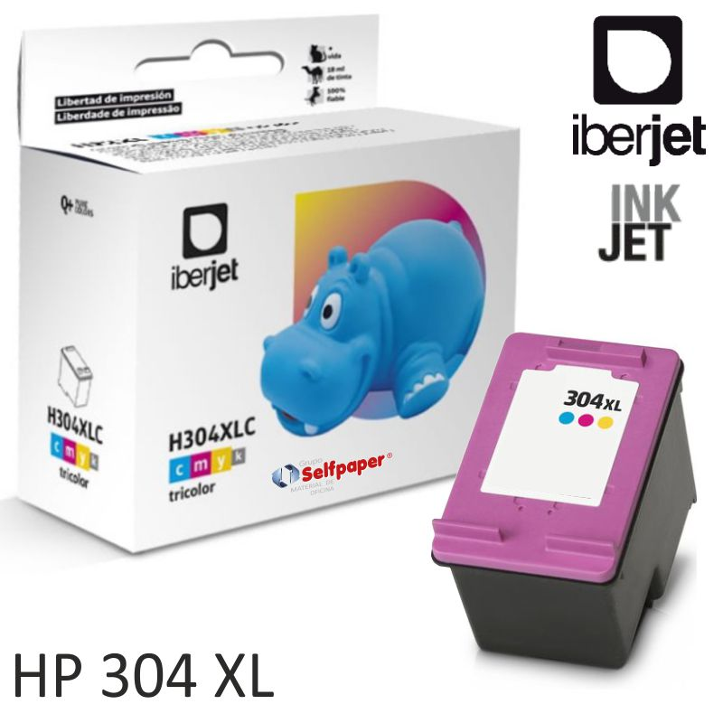 hp 304xl tri color compatible cartucho n9k07ae