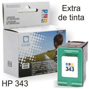 HP 343 Compatible cartucho