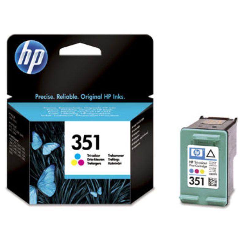 HP 351 cartucho tinta Color CB337EE 3.5ml 170 Pag