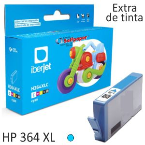 HP 364XL Ccolor Cyan, Cartucho de tinta compatible