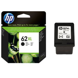 HP 62XL Negro, cartucho tinta original, Envy 5640 7640