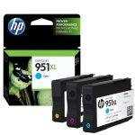 HP 951XL Cyan, magenta