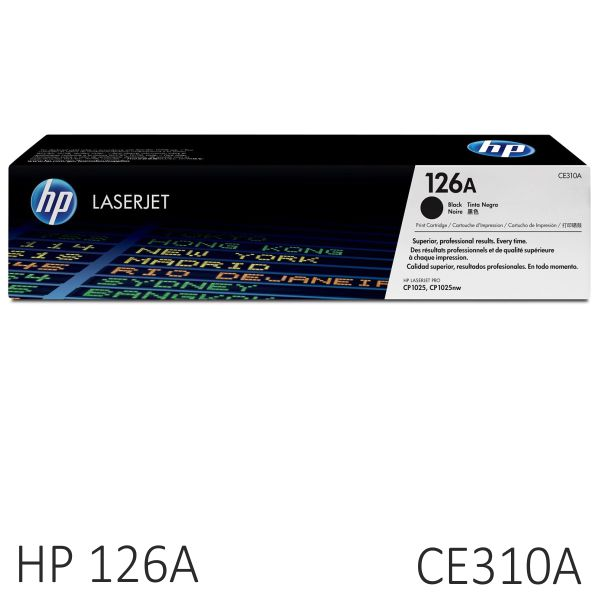 HP CE310A, toner original