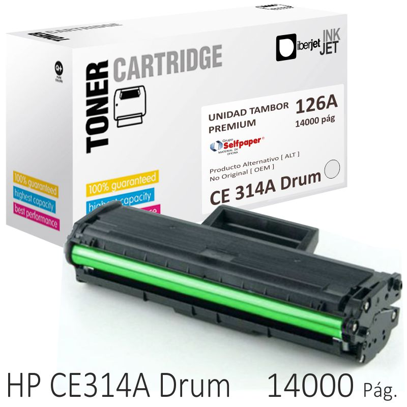 Comprar HP CE314A Compatible 126A, Tambor fotoconductor Drum