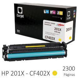 HP CF402X toner compatible