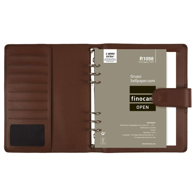interior agenda easy leo 1000 marron 2733040