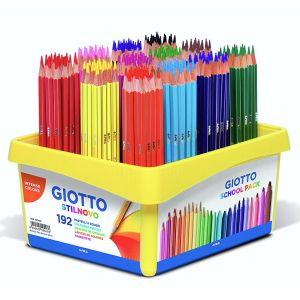 Lapices de Color Giotto Stilnovo Schoolpack 192 uds mina 3.3