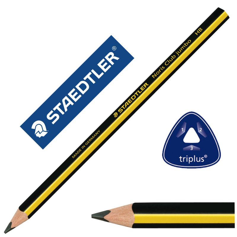 lápices staedtler noris club jumbo triangular apre