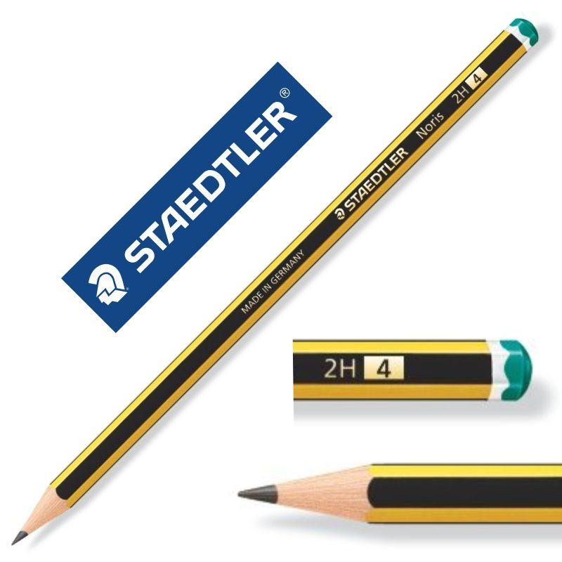 2H en Caja B En Grados Hb 2B//H Staedtler Noris Escuela Lápices 121