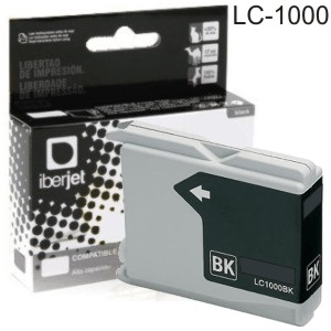 Comprar LC-1000BK LC1000 Brother tinta compatible negro LC51 LC10