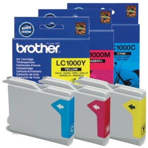 Comprar Cartucho tinta original Brother LC1000 LC-1000 LC 100 color