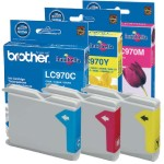 Cartucho Original Brother LC970 LC-970 LC970 color