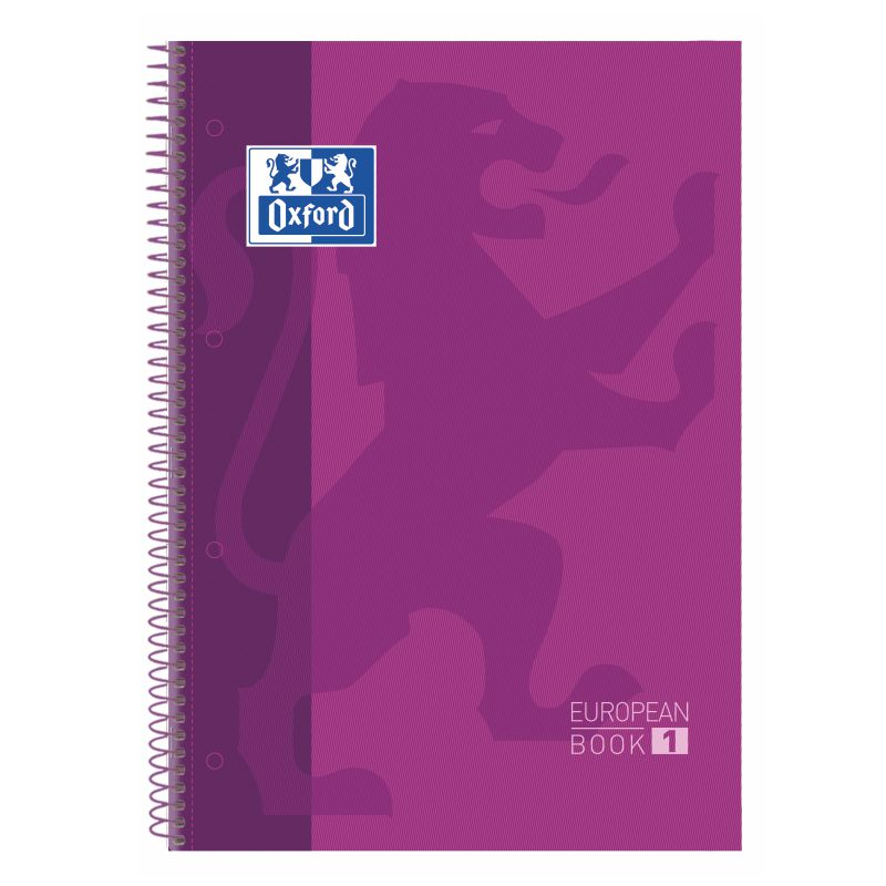 Libreta Oxford European Book 1 Morado 400072665