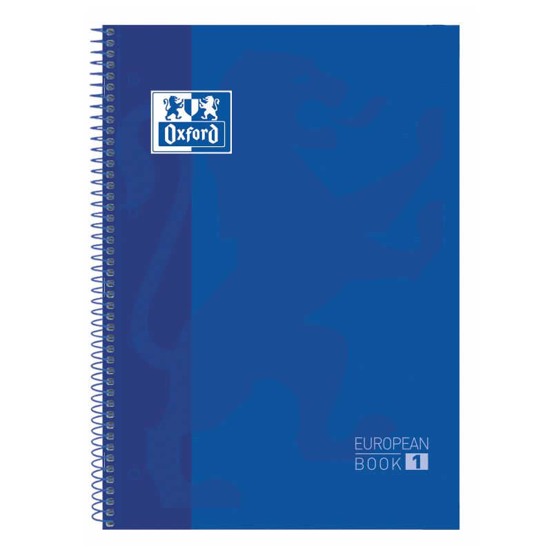 Libreta Oxford European Book 1 azul 100430200