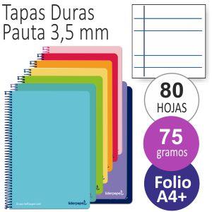 Libreta Pauta ancha, 2