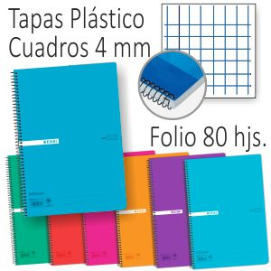 Libreta Tapas plástico Enri