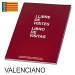 Libro Registro Visitas Valenciano