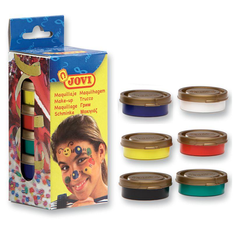 Maquillaje pintura para la cara infantil en crema colores for Pinturas de cara para halloween