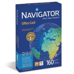 Papel Din A4 160 gramos Navigator office cards 250 hojas