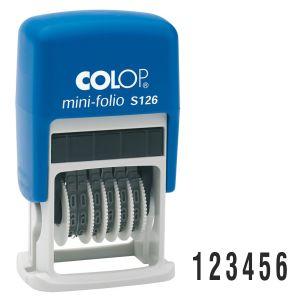 Numerador Autoentintable Colop S-126