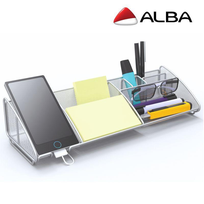 Organizador de escritorio Grande Rejilla Alba Meshboard, Selfpaper.com.