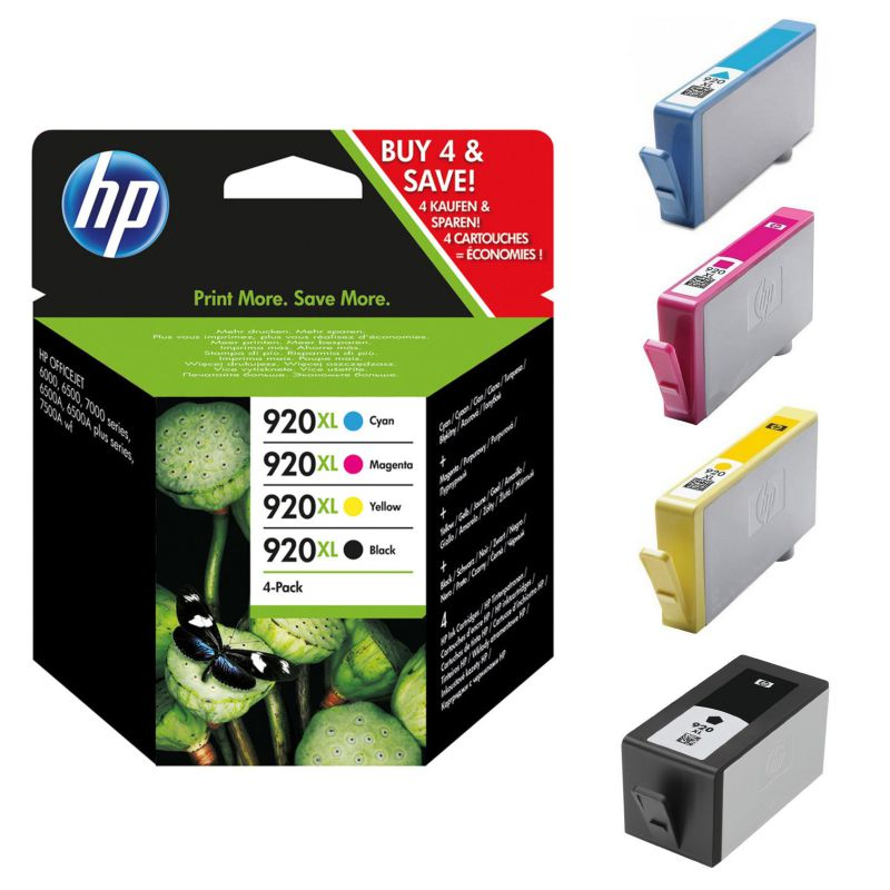 Pack Ahorro HP 920XL
