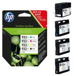 Pack HP 932XL y 933XL 3 colores