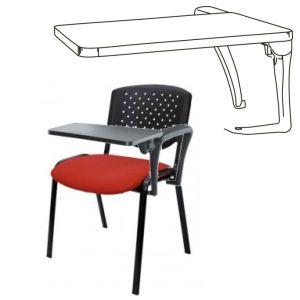 pala de escritura para silla izquierda zurdos