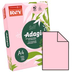 Papel Din A4 color Rosa claro Adagio 07 500 hjs, 80 grs