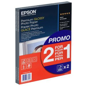 Papel fotografico ink-jet Din A4 Epson Premium Glossy 2x1